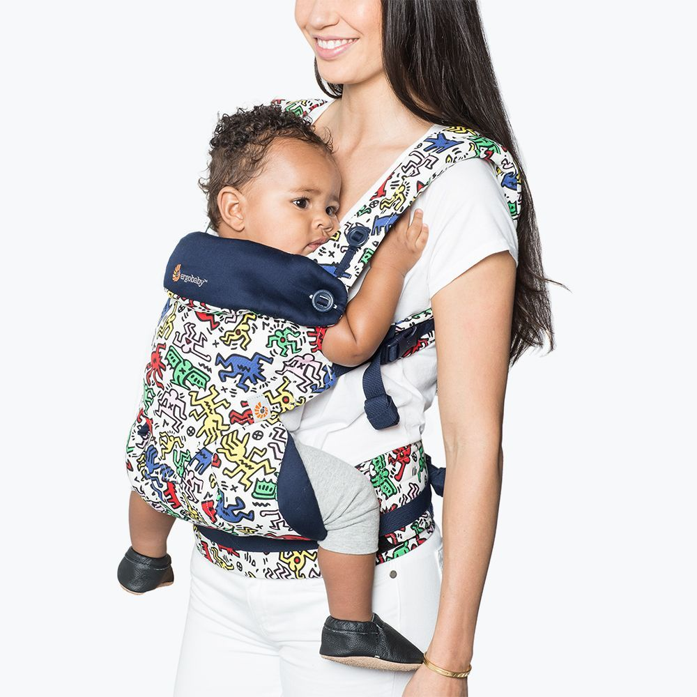 Ergobaby has brought to life Keith Haring's iconic art