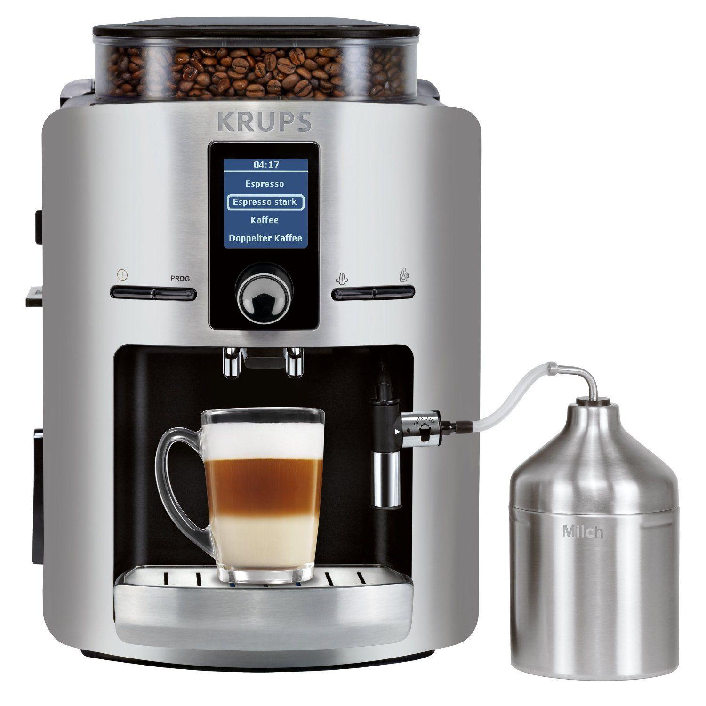 Coffee Machine Krups Ea 826e Cappuccino Machine Cappuccino Coffee