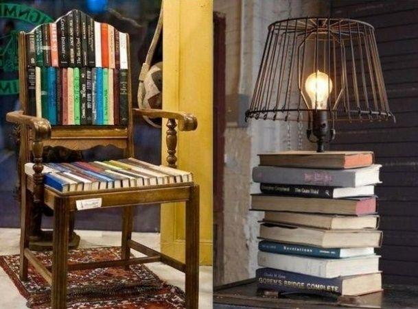 quoi faire avec de vieux livres id es recyclage id es. Black Bedroom Furniture Sets. Home Design Ideas