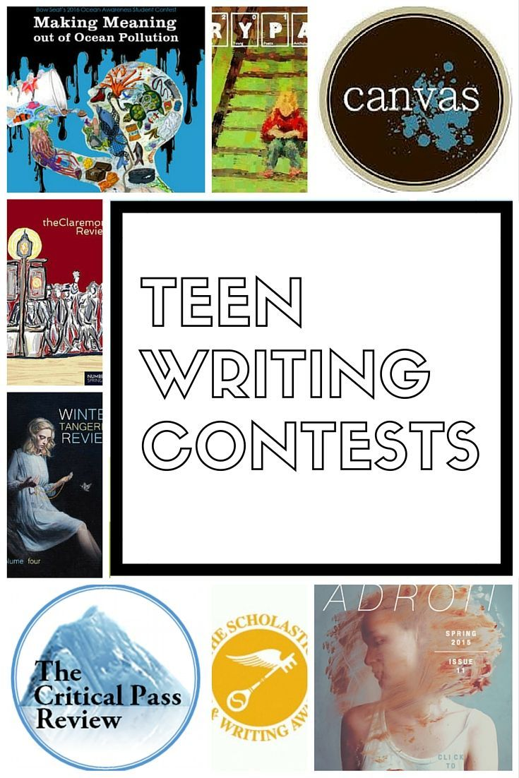 Amusing topic poetry writing contests for teens