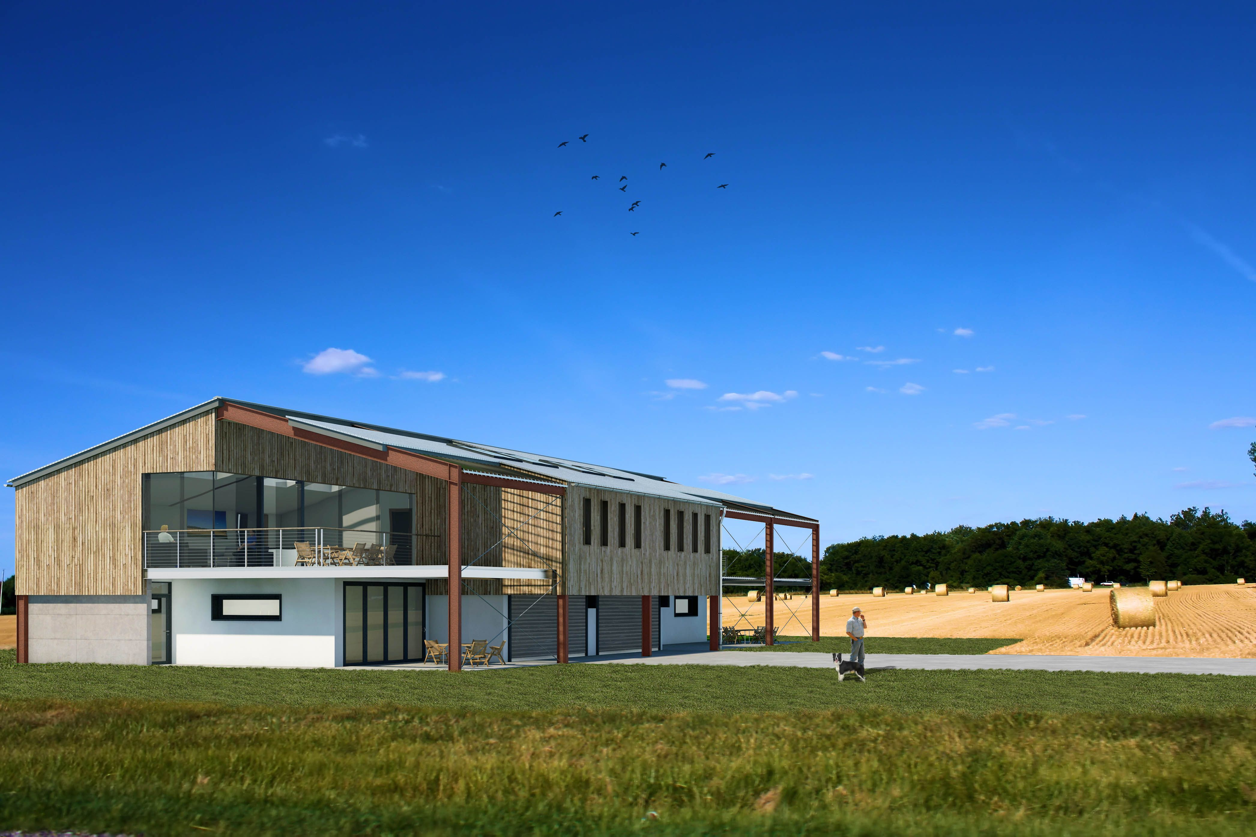 Photo of Modern Agricultural Barn Conversion