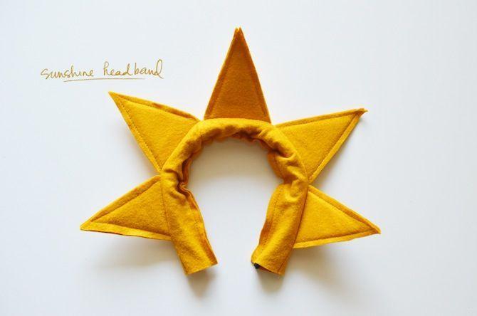 Diy Sunshine Costume Headband Beaver Inspiration