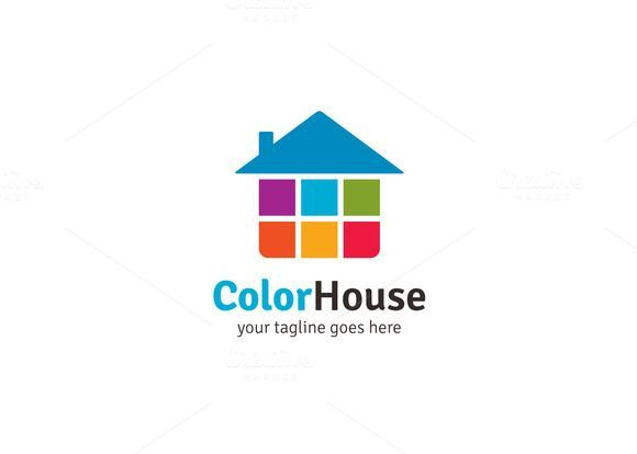 Color house logo by xpertgraphicd on creative market home design inspiration also daniel swanborough nilson danielswanborou pinterest rh
