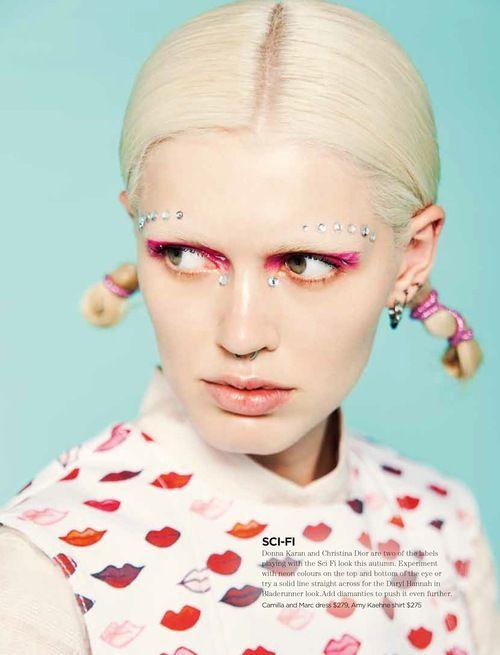 bleedgold:    by Zac Handley    I AM SO IN LOVE. #print #lips