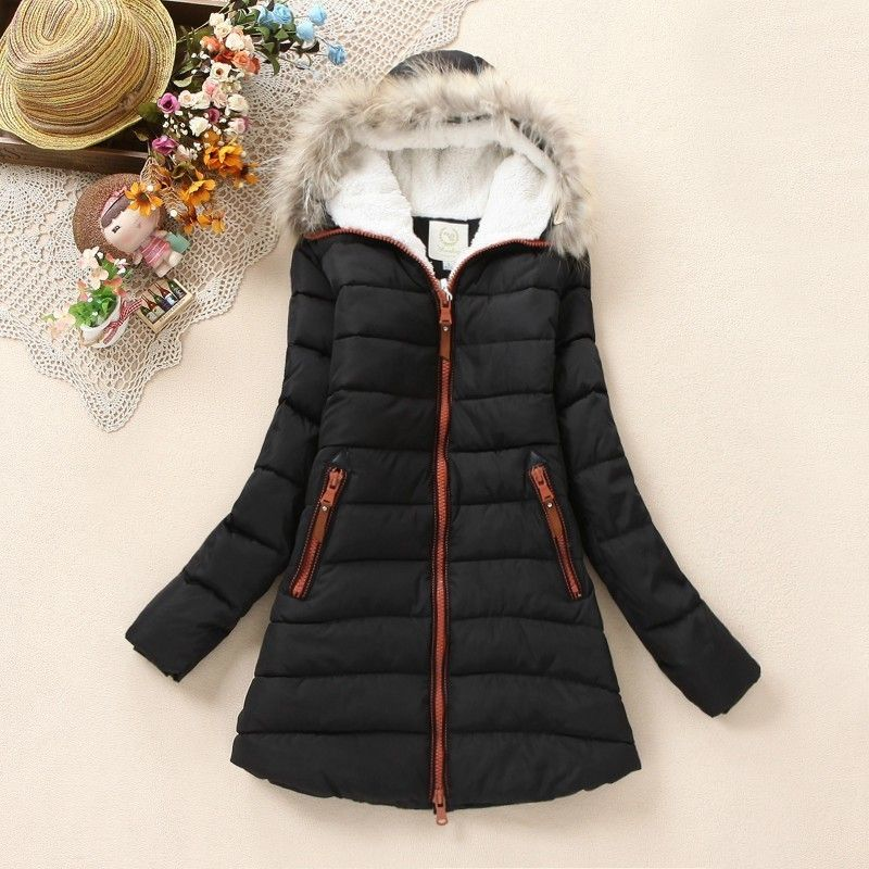 Fur Collars Coat Coat down Jackets