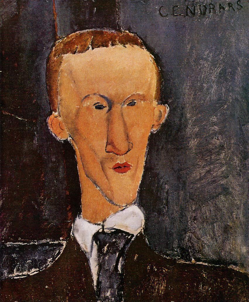 The Athenaeum - Portrait of Blaise Cendrars (Amedeo Modigliani - )