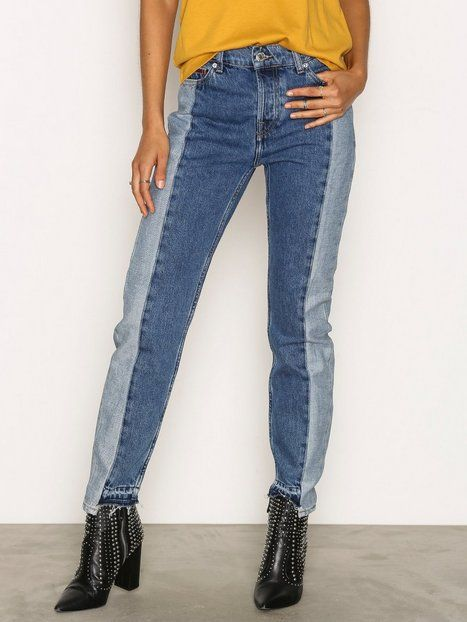 e96c2c3fd High Rise Slim Recon Izzy White High Waisted Jeans, High Jeans, Slim Jeans,