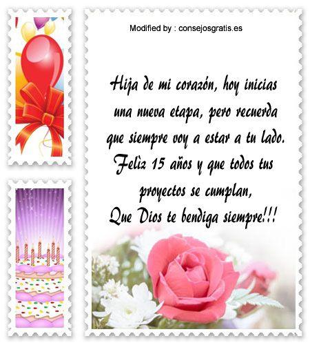 Frases Bonitas De Cumpleaños Para Quinceañeras