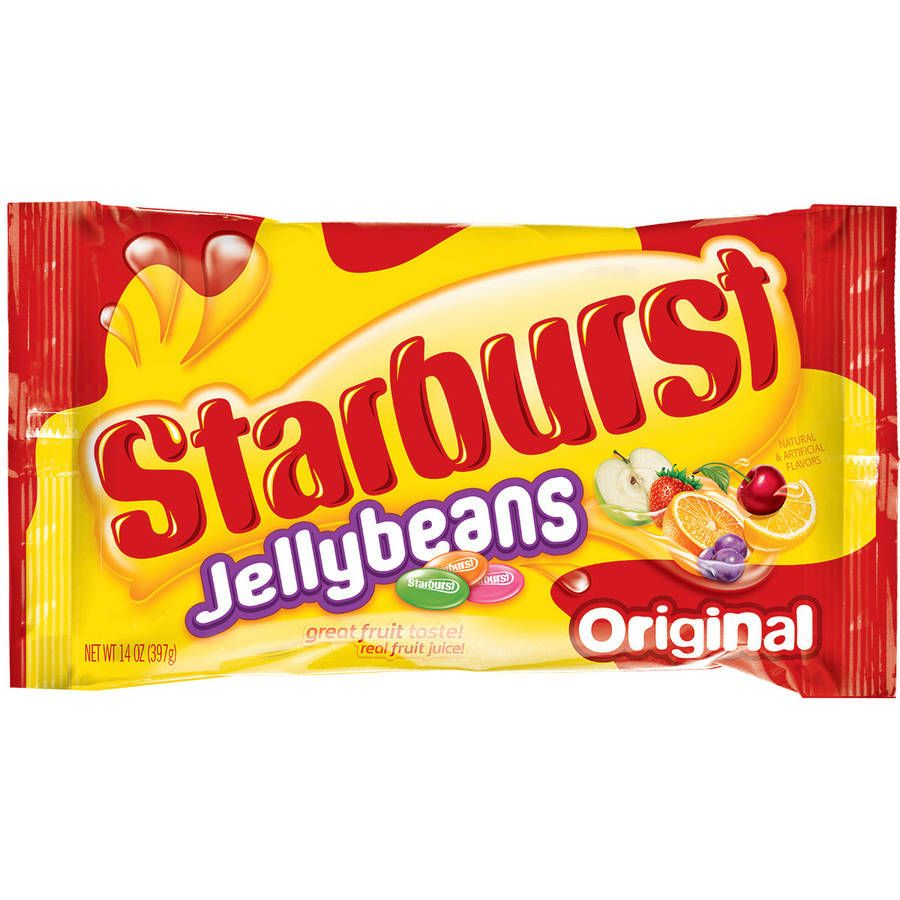 Starburst Jellybeans 1 10 Per Bag Target Starts Sunday Jelly Beans Chewy Candy Jelly Beans Easter