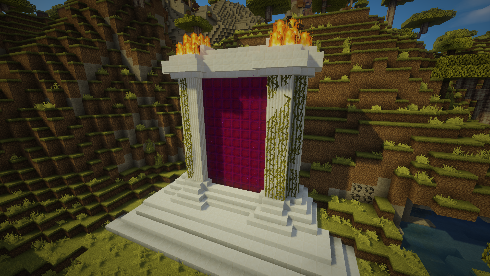 Nether portals are in again? Have this. : Minecraft   Cool ...