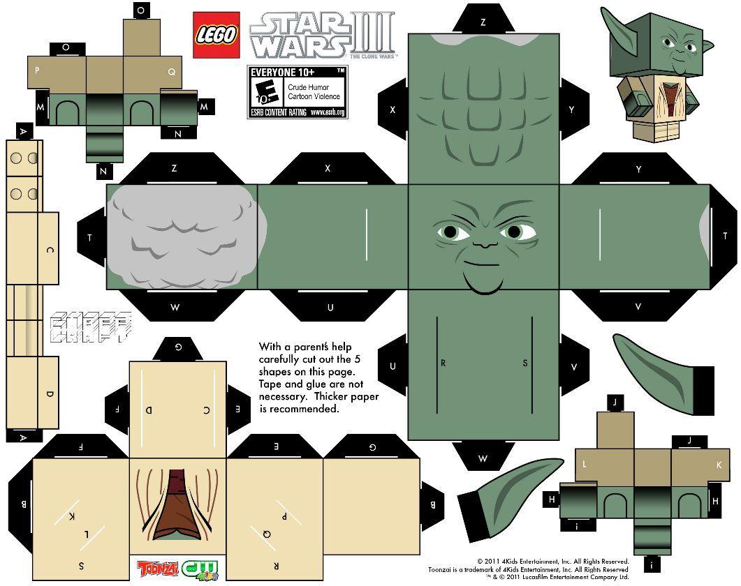 Workshop: Lego Star Wars Minifiguren basteln   Lego star wars ...