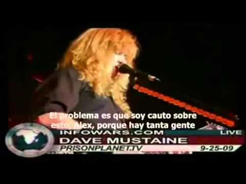 Dave Mustaine de Megadeth en contra del Nuevo orden mundial del Anticristo