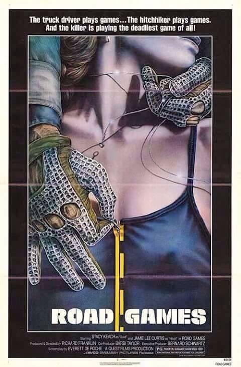 Road Games (1981) poster art