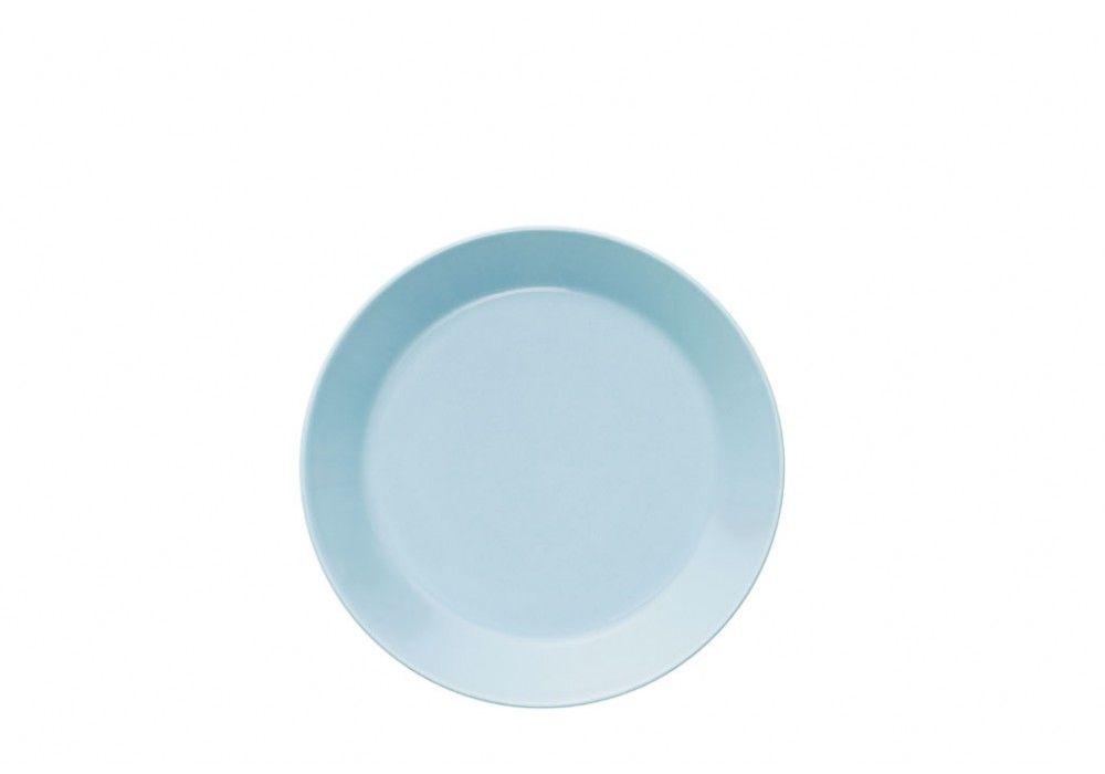 #iittala Teema Teller flach 17 cm hellblau