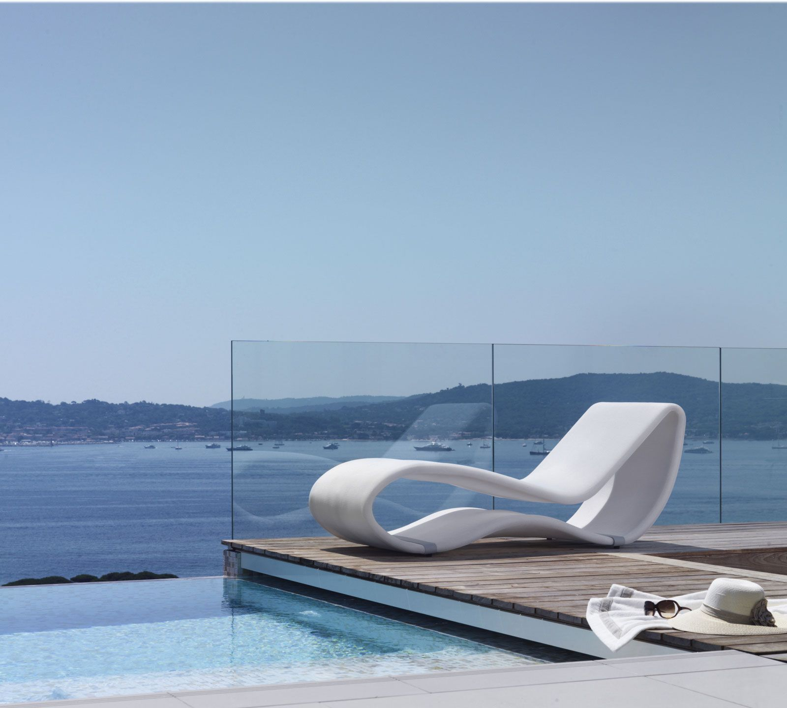 sunbed outdoor chaise longue made in italy manufacturer design