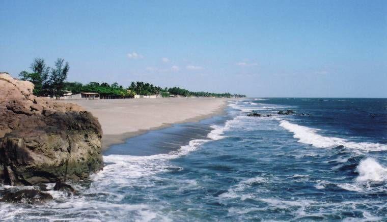 Poneloya Beach Nicaragua Pacific At