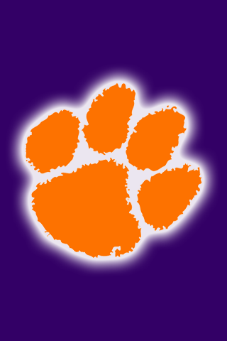 Free Clemson Tigers Iphone Ipod Touch Wallpapers My Blood