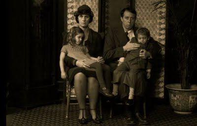Post-mortem (both children are deceased), 1920s-1930s.
