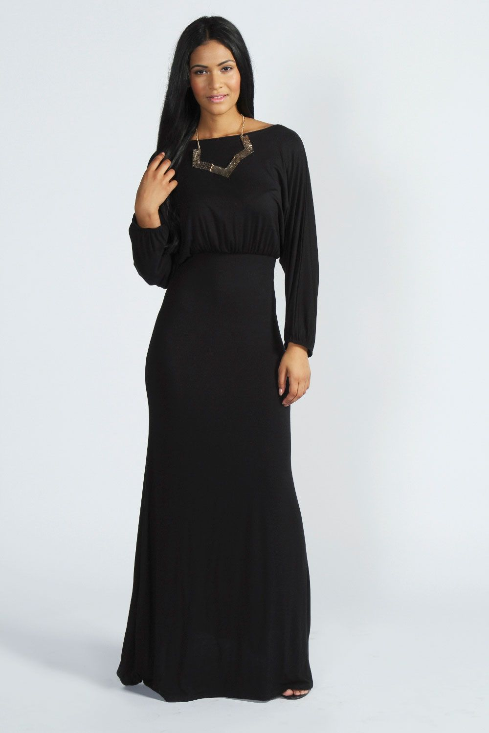 Leanne slouchy off the shoulder maxi dress dresses pinterest