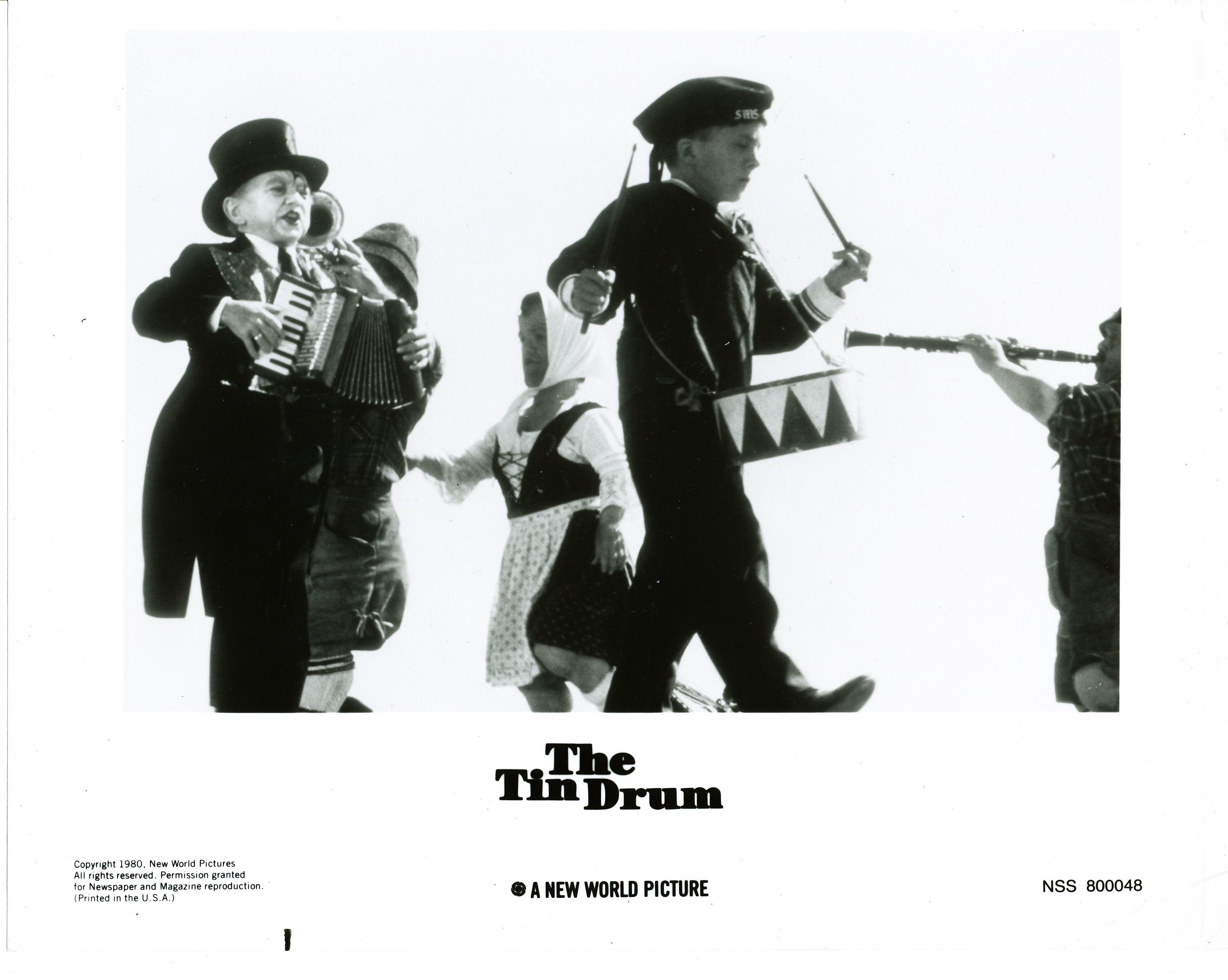 """""""The Tin Drum"""" (1979) film adaptation of the novel of the"""