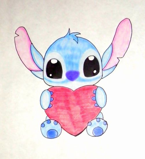 Pin By Sonitta On Drawing Dessins Disney Mangas Cute Disney Drawings Stitch Drawing Easy Disney Drawings
