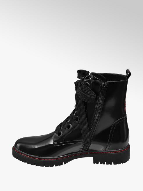 Nízke čižmy so šnurovaním značky Graceland vo farbe čierna - deichmann.com 8ecd3b6f18c