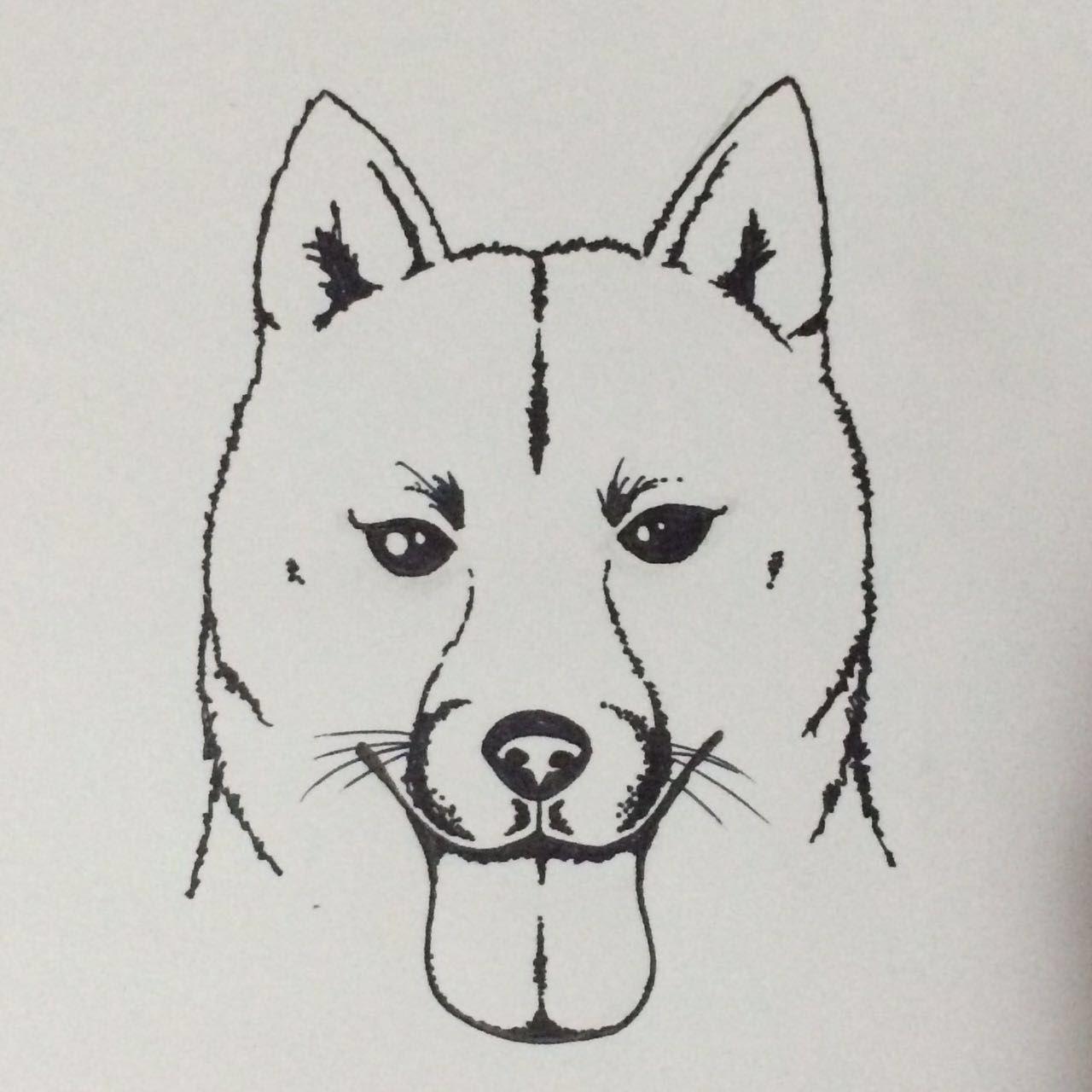 Tattoo Shiba Inu Shiba Inu Shiba Humanoid Sketch