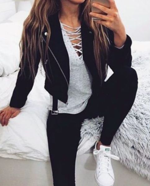 65 Fall Outfits for School to COPY ASAP #collegeoutfits