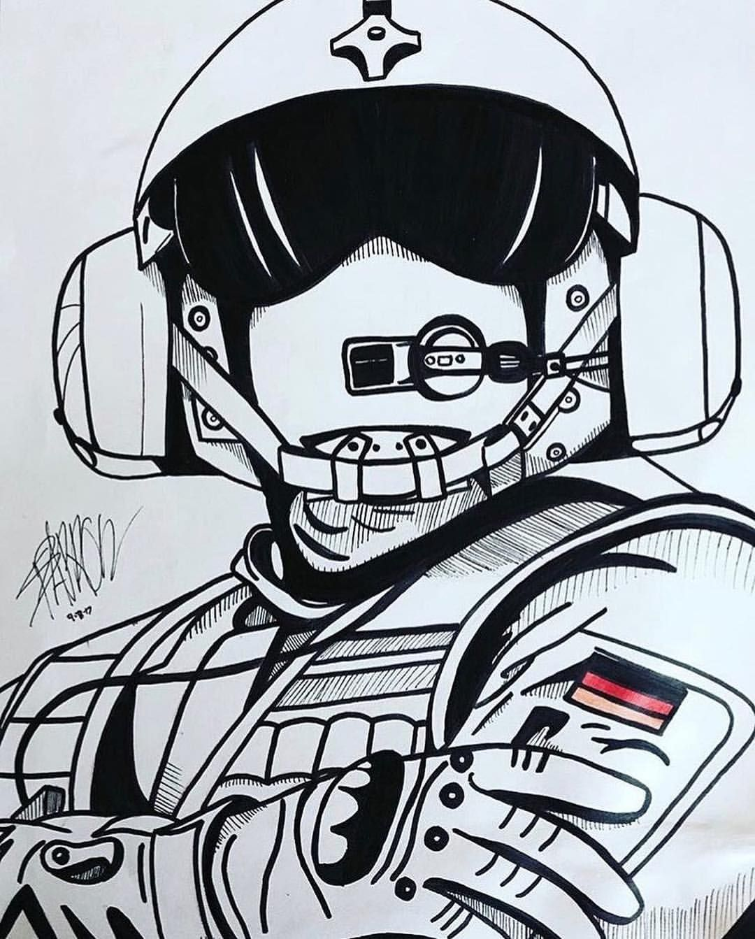 Jager R6s With Images Rainbow Six Siege Art Rainbow Six