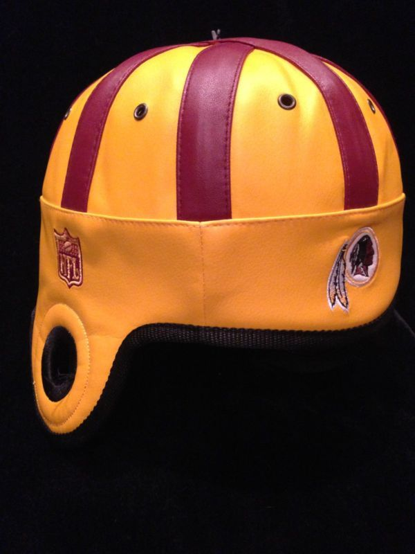 94a0f069 NFL Reebok Faux Leather Vintage Retro Helmet Head Washington ...