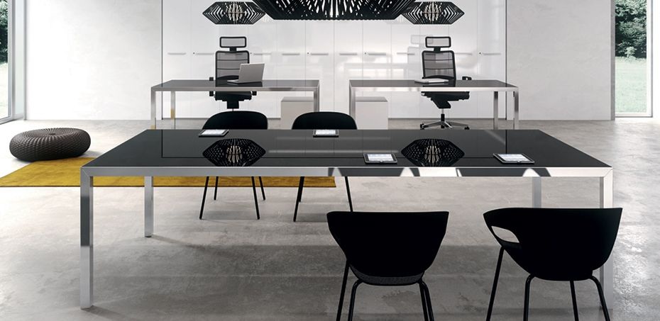 Rym Italian design desk by Della Valentina, design Antonio Morello ...