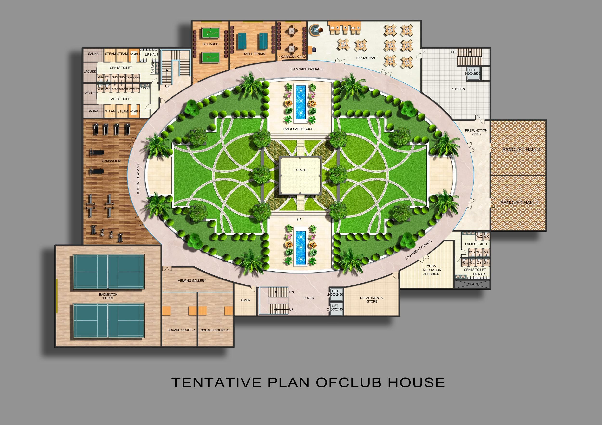 Small Clubhouse Plans Google Search Club House House Hotel