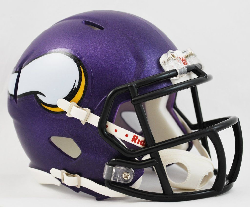 Minnesota Vikings Helmet Riddell Replica Mini Speed Style