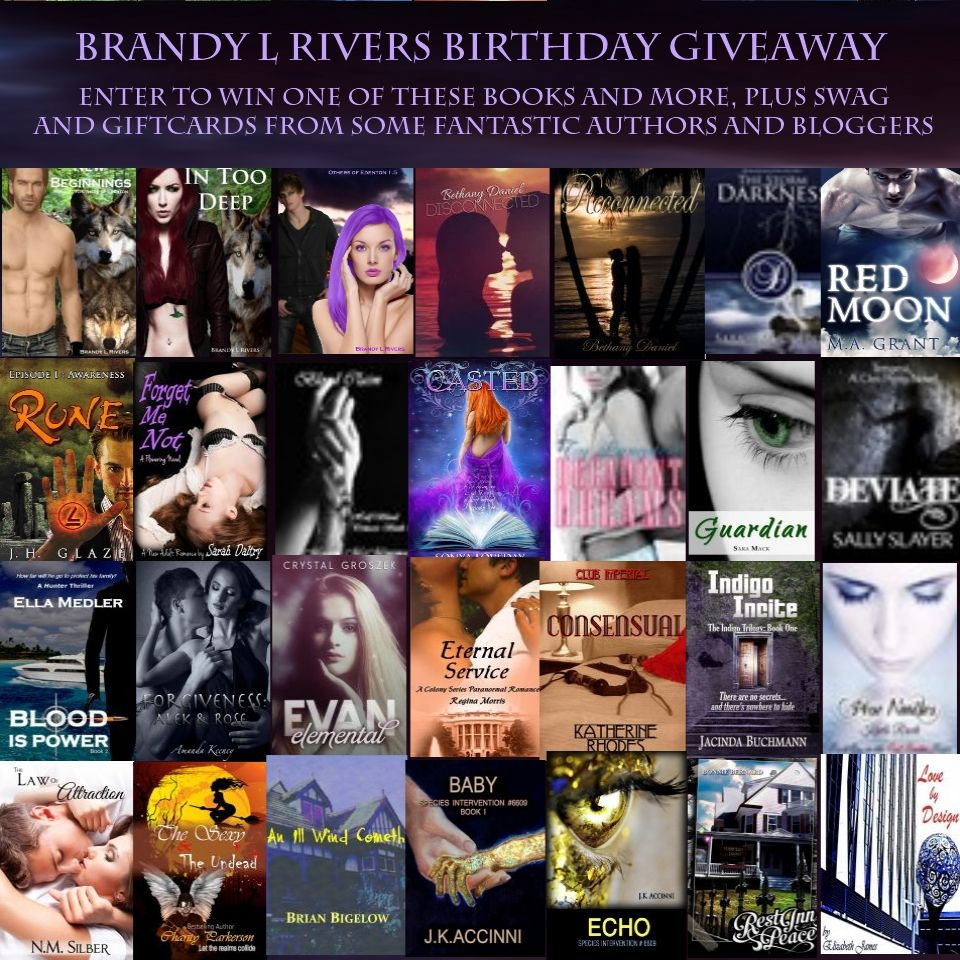 My Birthday Giveaway, go enter ;)