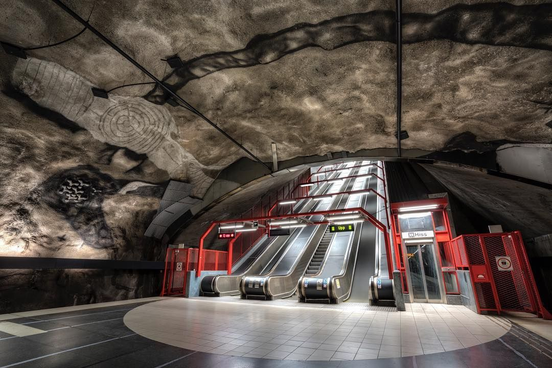 Underground - #stockholm #underground_enthusiasts