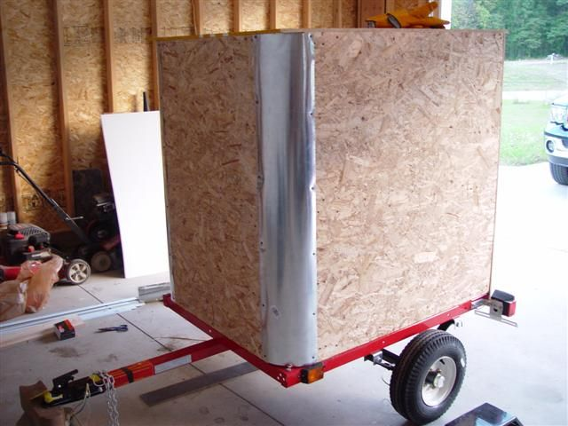 Diy enclosed trailer building an enclosed trailer vending cart design pinterest enclosed Home styles natural designer utility cart