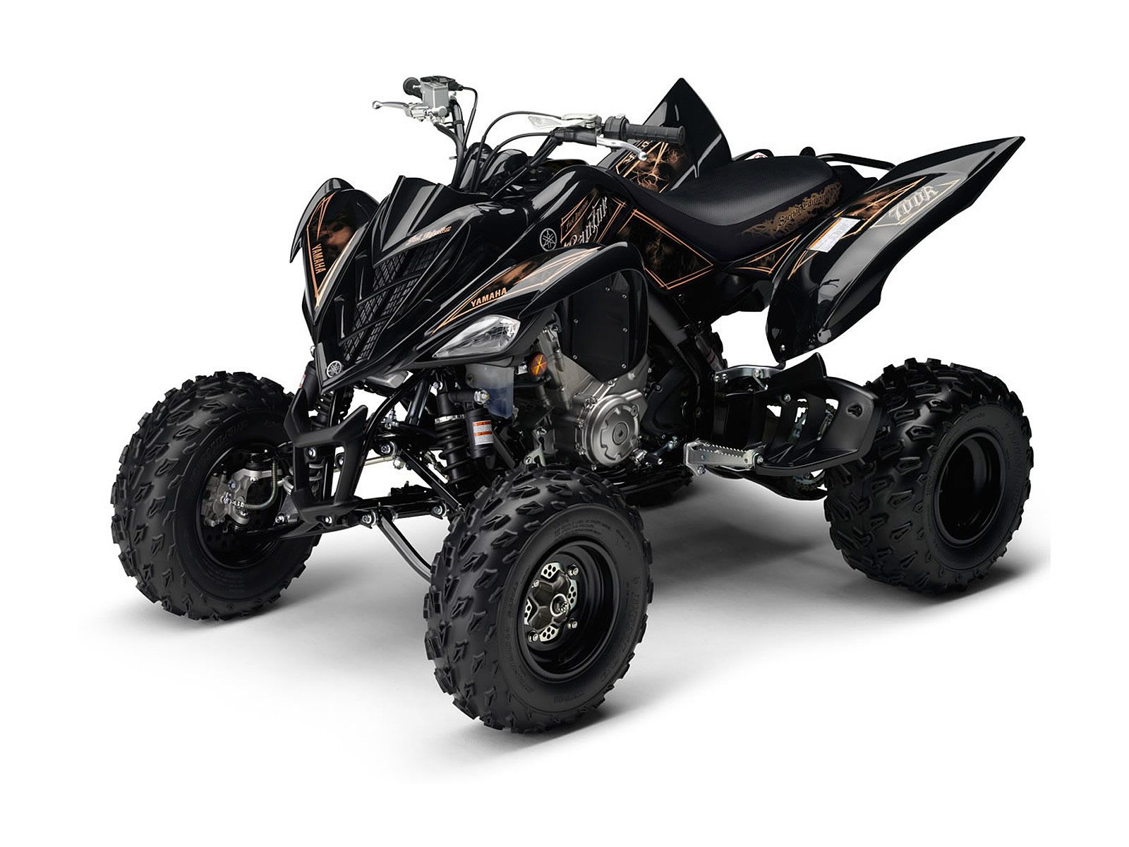 yamaha raptor 700r this is my favorite color scheme from the factory moto quad [ 1600 x 1200 Pixel ]