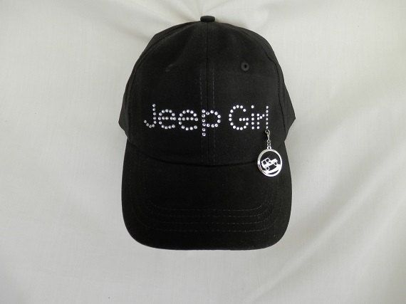 492a56fd3064b Rhinestone Baseball Hat Jeep Girl It Comes With A