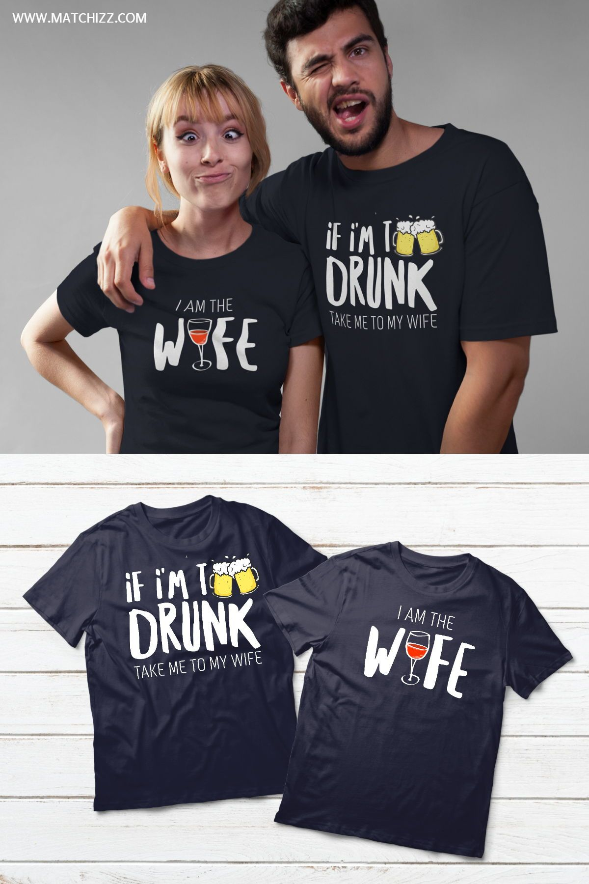 Couples Shirts Drinking Matching Outfits For Husband And Wife Matching Couple Shirts Couple Shirts Funny Couple Shirts