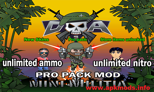 mini militia mod apk download unlimited nitro
