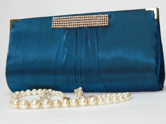 3b9686e63 Bolsa Carteira Festa Luxo Azul Brilho Bolsa De Festa Dourada, Carteira De  Mão, Bolsas