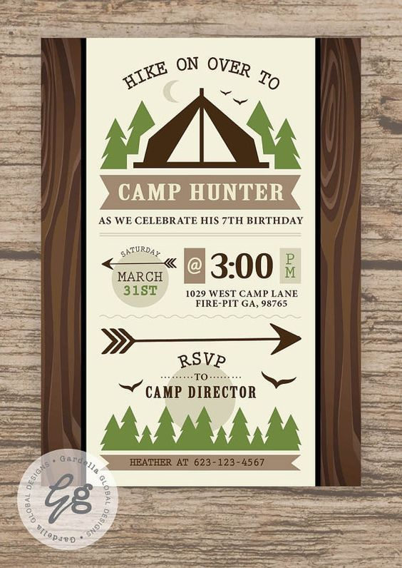 Camping invitation camping invite camping party campfire sleep camping birthday party camping party camping birthday camping invitation camping invite camping party campfire sleep over invitation camp out filmwisefo