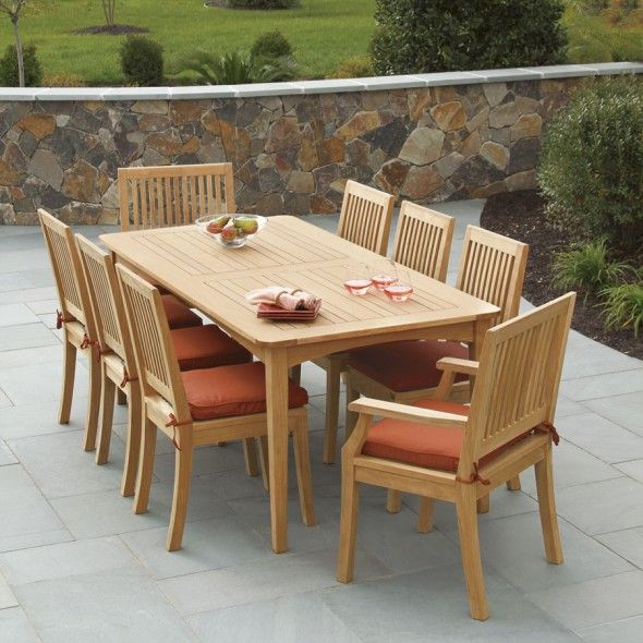 teak patio furniture costco | outdoor teak | pinterest | teak, Esstisch ideennn