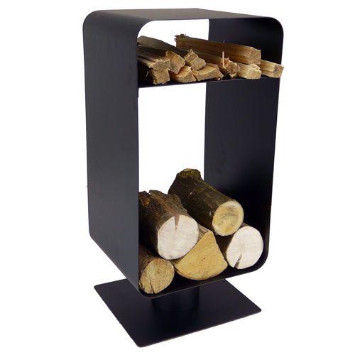 manor nordic black log holder log basket pinterest. Black Bedroom Furniture Sets. Home Design Ideas