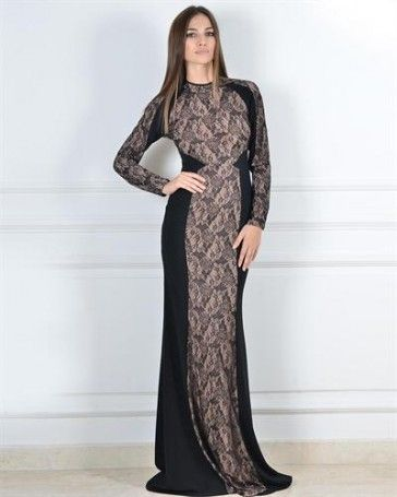 Julea Domani Lace Overlay Embelished Dress - Dresses - Apparel at Viomart.com