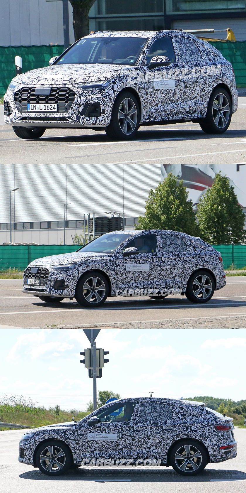 Spied 2021 Audi Q5 Sportback Has The Bmw X4 In Its Sights This Will Be Audi S Answer To The Bmw X4 And Mercedes Glc Coupe In 2020 Bmw X4 Audi Q5 Audi