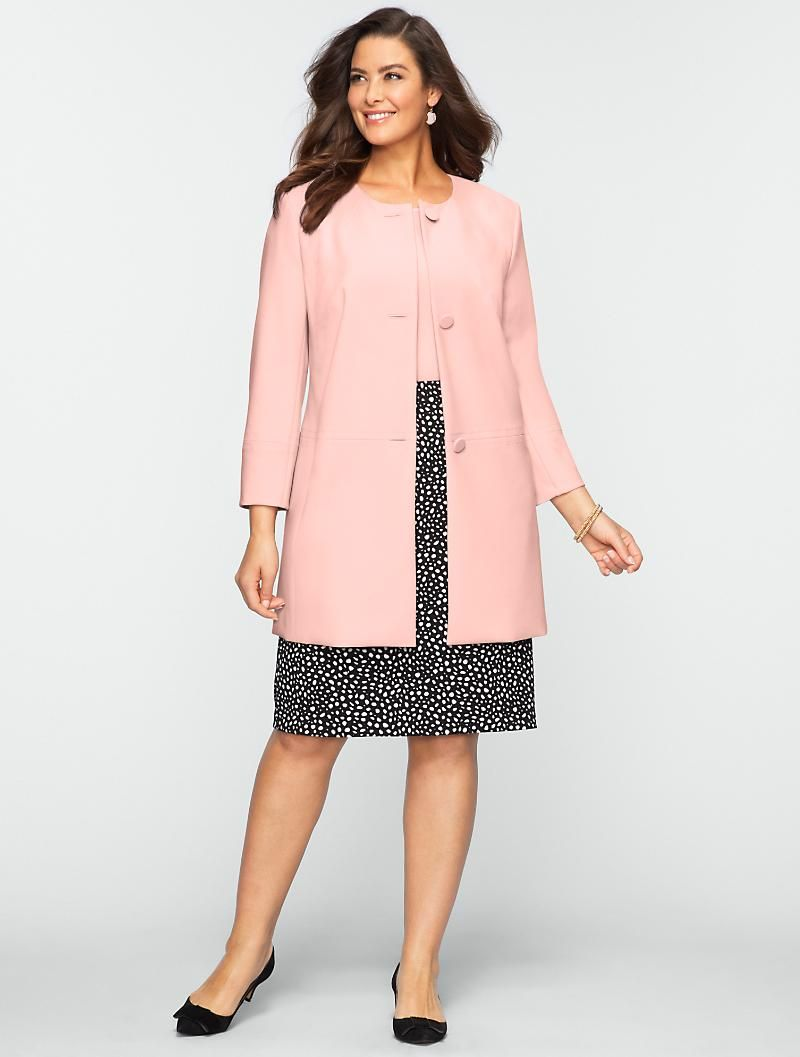 Talbots - Long Double-Faced Jacket | Jackets | Woman | packing for ...