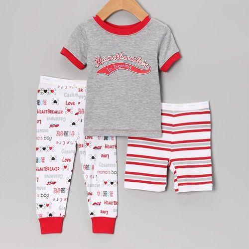 ملابس بجامات اولاد موضه فاشن متجر باتز بجامات اطفال بجامة اولاد زياء الصيف ثلاثه بجامة اولاد ملابس اطفال ب Baby Pjs Toddler Boy Outfits Pajama Set