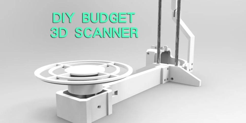 DIY Budget 3D Scanner V3 Diy on a budget, 3d scanners