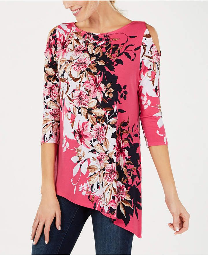 JM Collection Plus Size Embellished Tunic, Created for